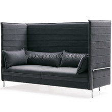 alibaba china foshan office room furniture fabric single alcove sofa moroso sofa