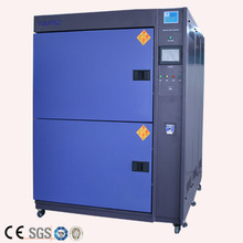 Laboratory environmental stability climate ce certificated two zones air thermal shock chamber