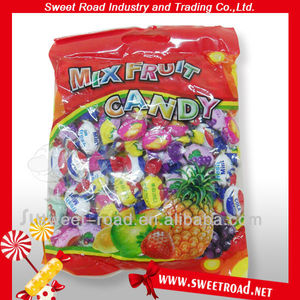 Mix fruit hard candy