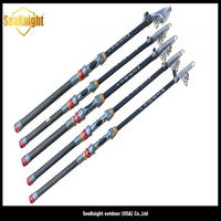 3 meters high quality telescopic carbon fishing rod in Alibaba
