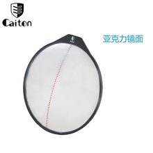 Golf Putting Mirror Alignment Training Aid Swing Trainer Eye Line Golf Practice Putting Mirror free shipping