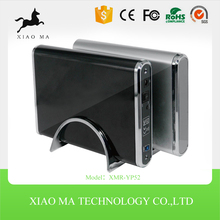 "Portable hard disk case for SATA desktop hdd usb3.0 3.5"" shockproof hdd enclosure XMR-YP52"