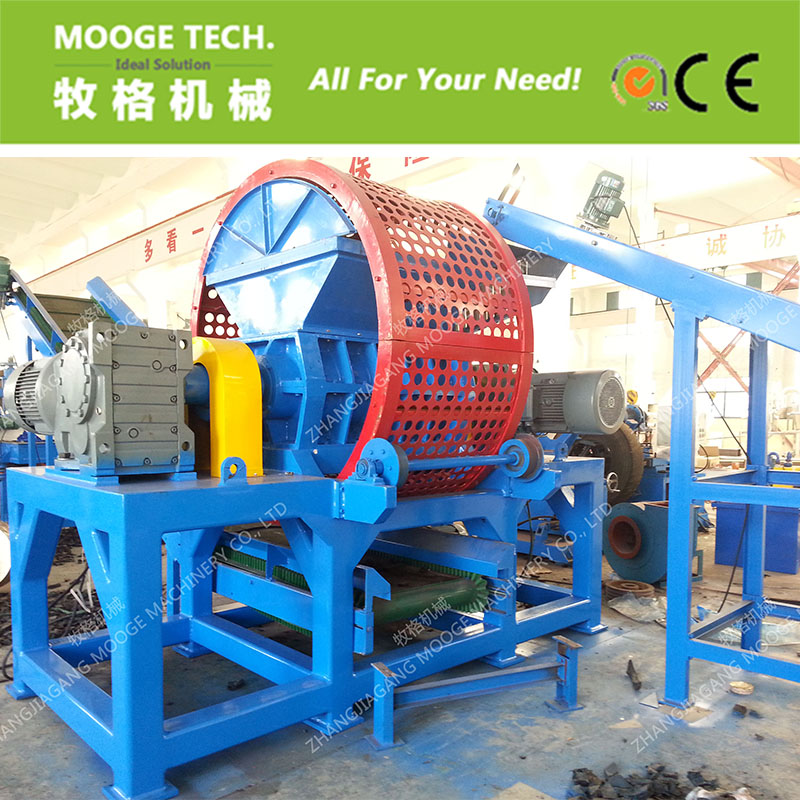 Tire recycling equipment /tyre recycling machine with CE certification