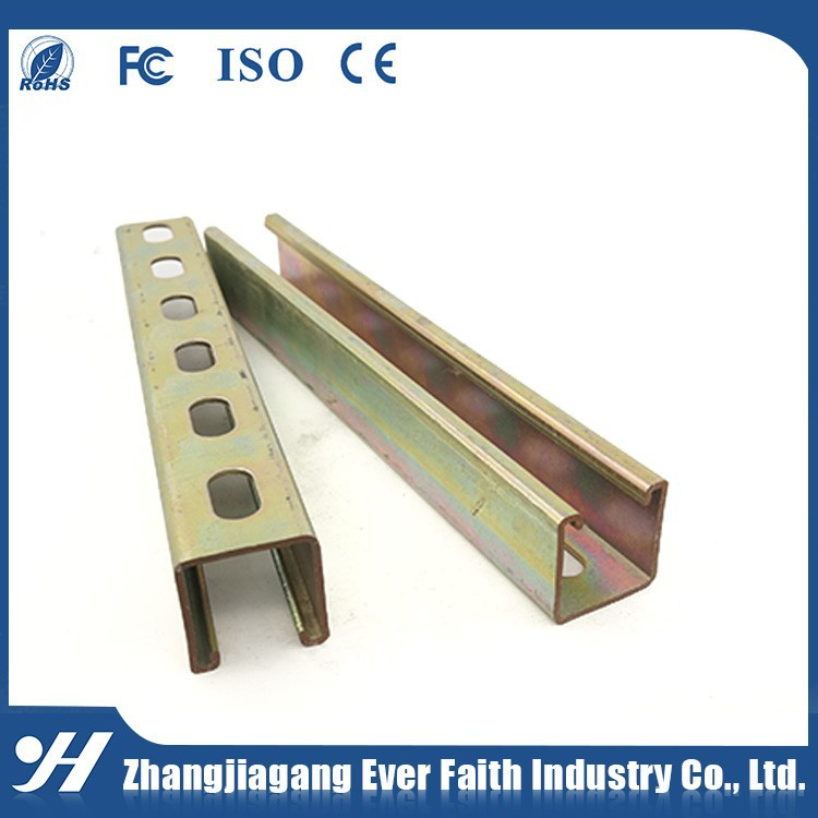 High Quality China Promotion JIS Standard Construction Material C Shape Channel For Construction