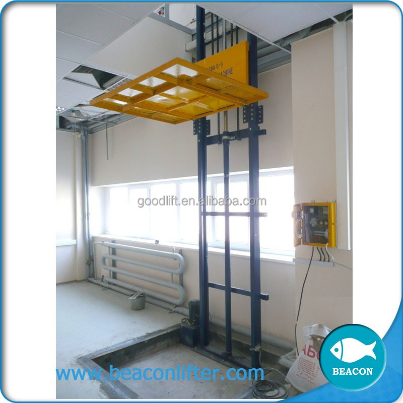 best selling lift ramp hydraulic scissor type cargo lifter