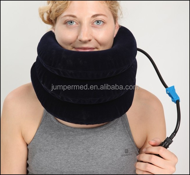 Healthcare Inflatable Cervical Collars/Neck Traction/air pump neck brace
