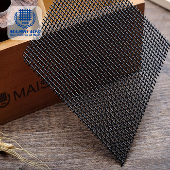 marine grade 316 10mesh 0.9mm stainless steel window screen security mesh
