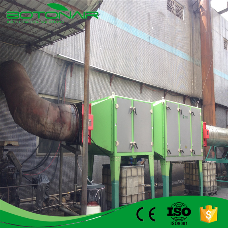 Air Filter Air purifier ESP For Textile Industry Exhaust Gas