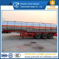 New Aluminium Alloy Oil Tanker Trailer