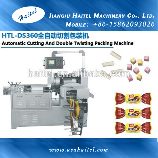 Automatic Column And Square Candy Cutting And Double Twist Packing Machine