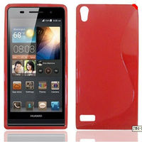 NEW ULTRA THIN S LINE SILICONE GEL CASE COVER ACCESSORIES FOR HUAWEI ASCEND P6