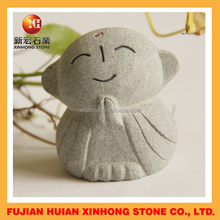 hand carved stone buddha for decoration