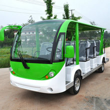 Brand DISING 14 Seater China Vehicle Electric Minibus with 120km Driving Range