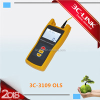 Optical light source fiber testers small size handheld laser source fiber optic tool kits
