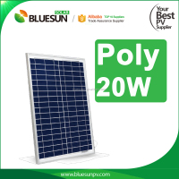 Bluesun TOP quality 12v 18v 40w 30w 20w 10w 5w 3w small size solar panel with micro inverter