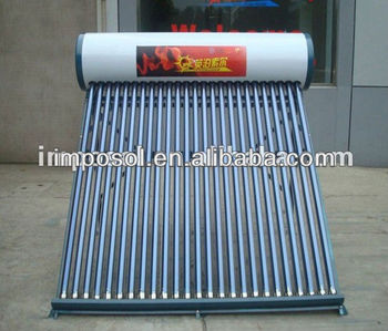 Solar Water Heaters with Vacuum Tubes 8tubes-36tubes