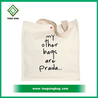 Handmade Cotton Fabric Shopping Bag