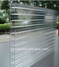 Clear Triple wall Hollow PC sheet