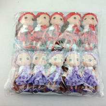 Direct manufacturers factory price 12 cm mini ddung dolls for plastic wedding bouquet