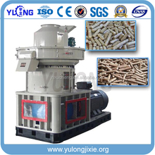 Hot 1-6 ton per hour vertical ring die machine pellet wood for making fuel pellet with CE