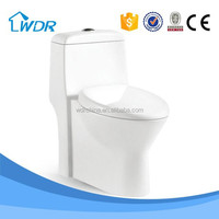 Ceramic siphonic bathroom set dual flush toilet bowl