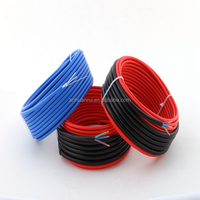 floor heating system of twin conductor heat resistant power cable