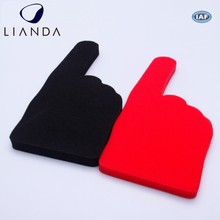 Popular Big Printed Foam Hands Foam Finger Big Hand Fans
