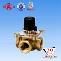 3-way hydraulic motorized control valve
