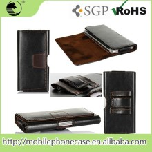 Best Quality Fashionable Cheap 5 Inch Leather Mobile Phone Case For Samsung S4