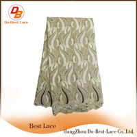 Online Shopping Best Embroidered Swiss Lace Fabric For Wedding Dress