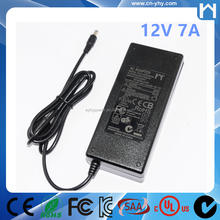 LCD Monitors 12V 7A 84W AC Adapter Power Supply UL 1310 Class 2 AC Adaptor
