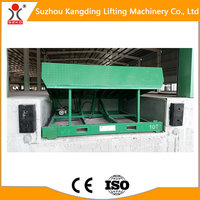 10 ton 550mm Staionary Hydraulic Dock Leveler