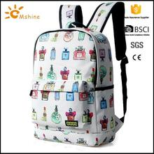 Promotional Hot Style Durable casual Lightweight Waterproof nylon lovely teenage girls backpack