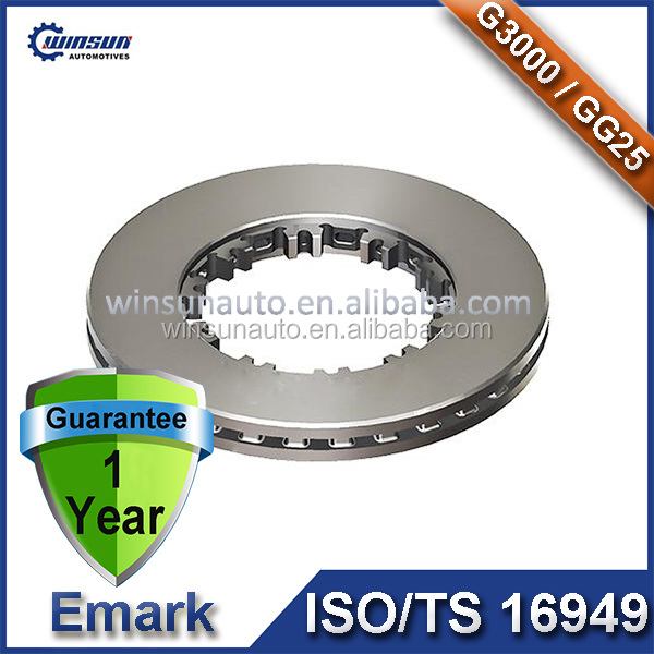 1387439 1139112F 1L39541F K004322 Z0009911 Truck and Trailer Bus Parts Brake Disc for Daf