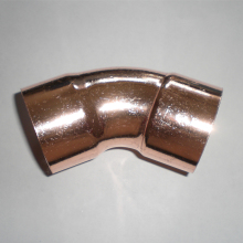 45 Degree Copper Elbow For Refrigeration
