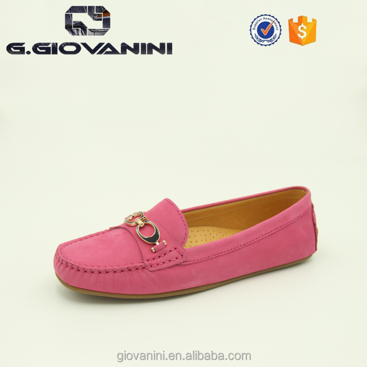 fashion italian leather moccasin lady shoes italian women shoes