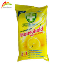 antibacterial household surface cleaning wet wipes 50pcs