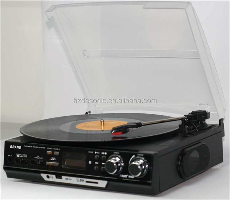 vinyl turntable record player mp3 converter&vinyl records music manufacture