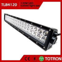 TOTRON Hot Sell Dust Proof Curved Led Light Bar 4X4 Off Road For Jeep