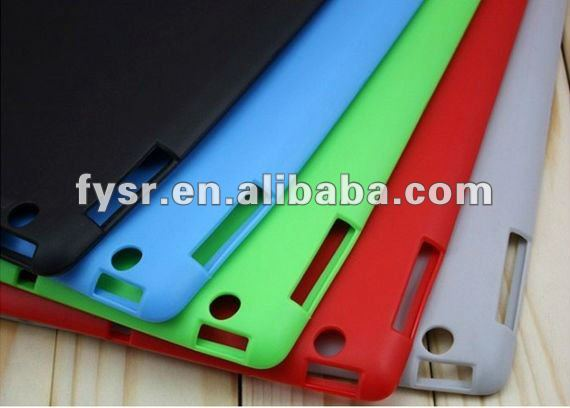 Shockproof silicone skin for Pad 2 / laptop protective cover