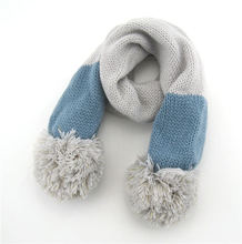 Winter Autumn Korean Kids fashion knitted scarf
