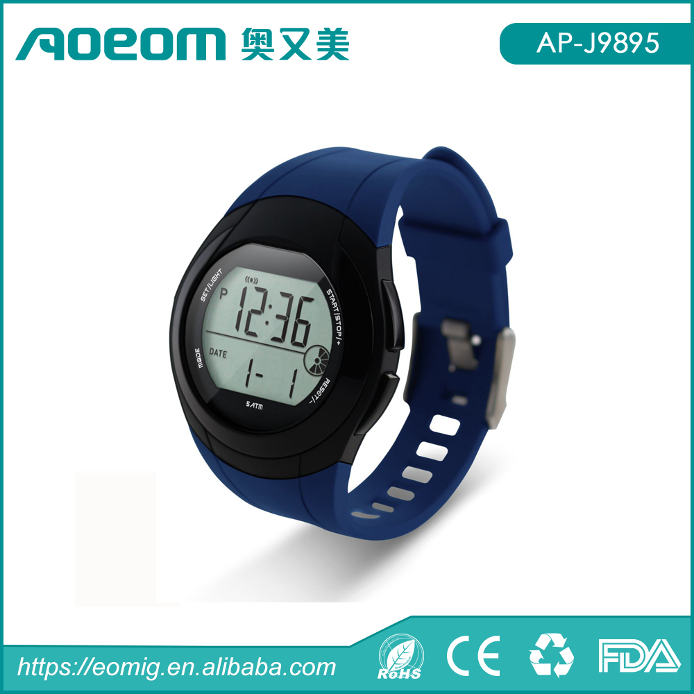 2016 Shenzhen New Electronic Healthy Sport Pedometer Smart watch