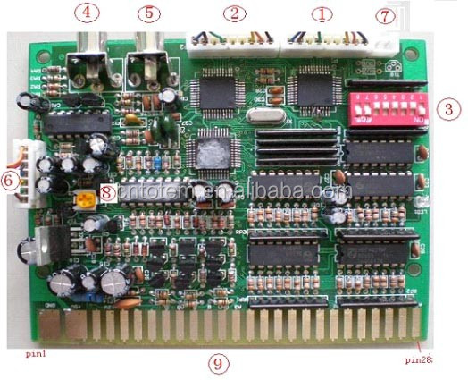 pc time controller board for game machine