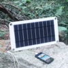 8W 5V Solar Panel Charger USB Output Battery Charger for Travel Camping Compatible with Phone,Samsung,Power bank or Any Other US