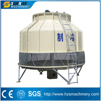 200 ton high quality water cooling tower & Cross flow cooling tower