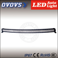 OVOVS high lumens 288w 52 inch curved led light bar with trade assurance for pick-up