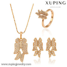 62900 New arrival wedding 18k gold color chinese jewelry
