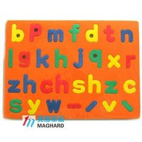 Magnetic color EVA Letters/Interesting Letters Educational game Toys
