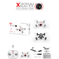 SYMA X22W 30W WIFI Camera FPV Mini Drone Quadcopter