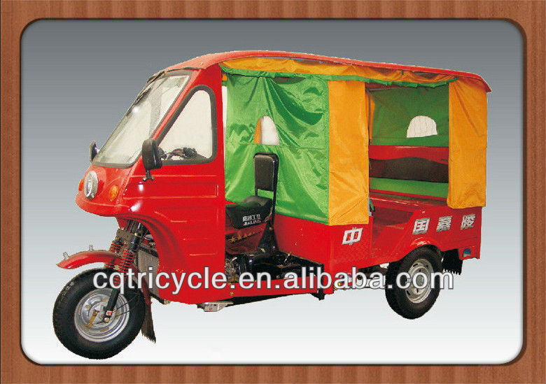 three wheel taxi/new style tuk tuk passenger motorcycle tricycles